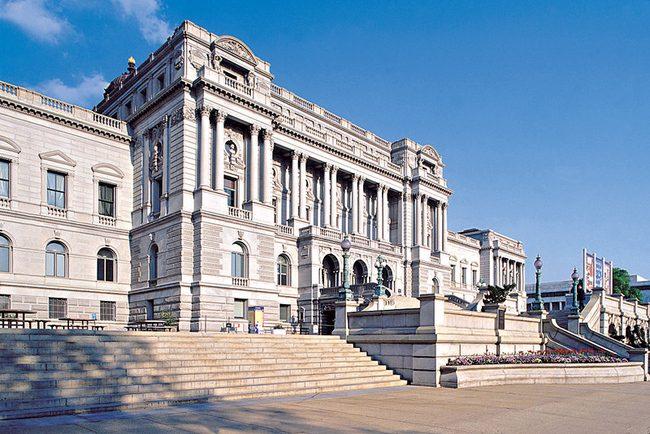 Библиотека Конгресса, Вашингтон